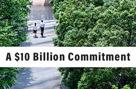 A $10 billion commitment