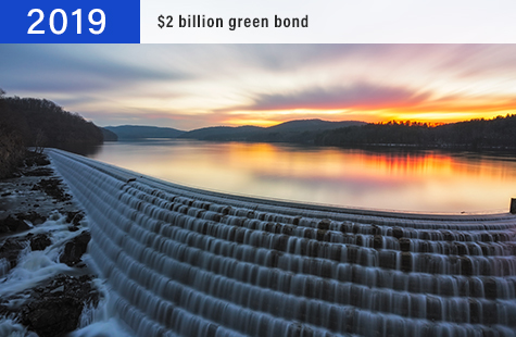 2019 $2 billion green bond