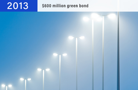 2013 $600 million green bond